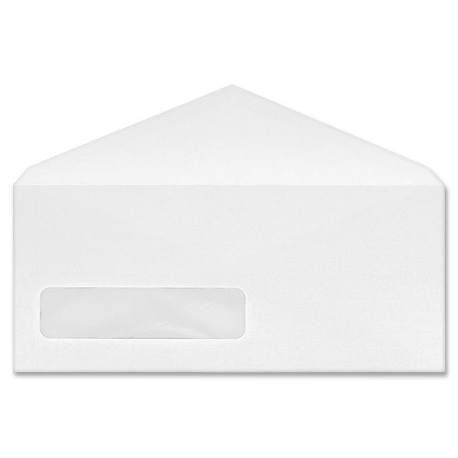Quality park no 9 poly klear window envelopes for Window envelopes