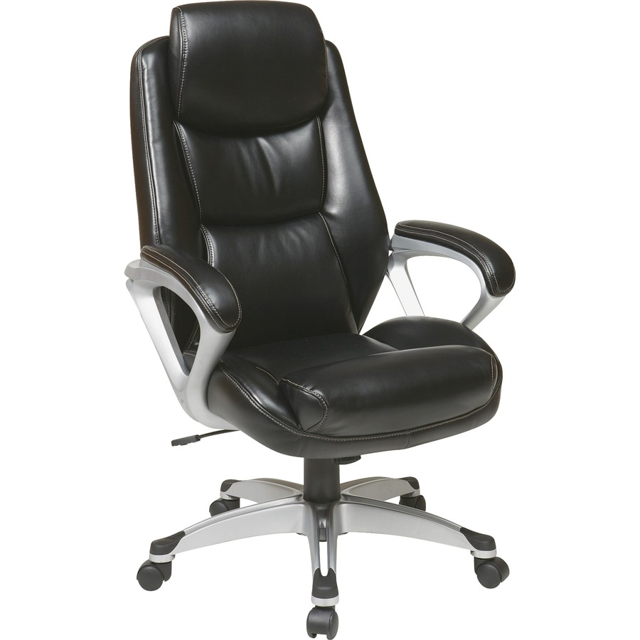 Lorell Executive Leather High Back Chair