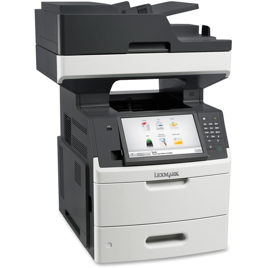 Lexmark mx711de laser multifunction printer monochrome for Best home office multifunction laser printer