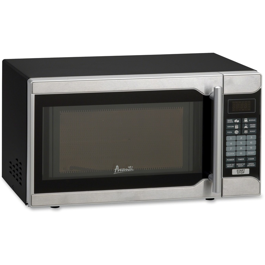 ... Oven - 700 W Microwave Power - Countertop - Black, Stainless Steel