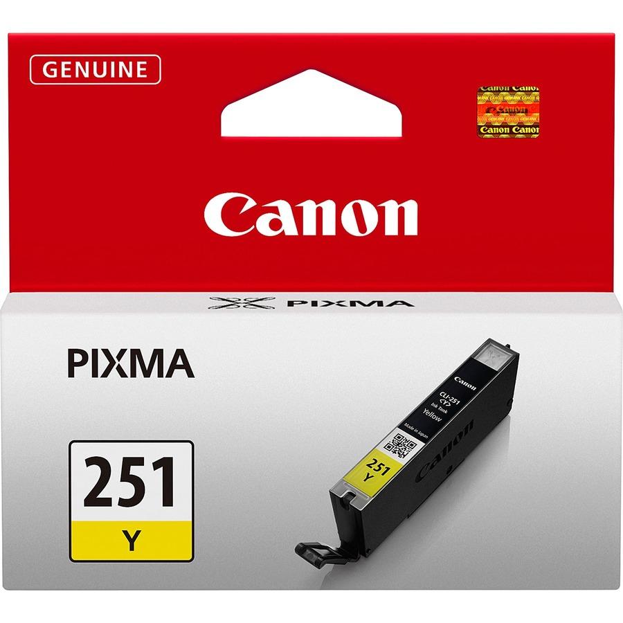 Canon CLI-251Y Original Ink Cartridge CNMCLI251Y