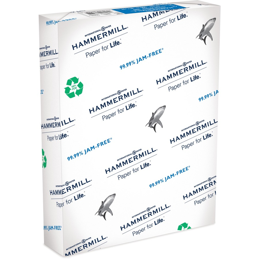hammermill color copy paper Hammermill - color copy cover paper, 60lb, 100 bright, 8-1/2 x 11 - 250 sheets 292232 letter size specifically engineered for high-speed digital color copiers and laser printers.
