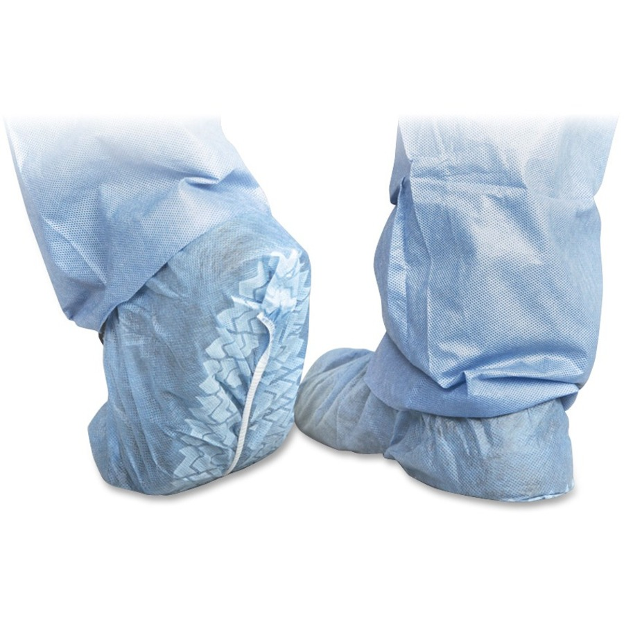 miicri2003z medline polypropylene non skid shoe covers