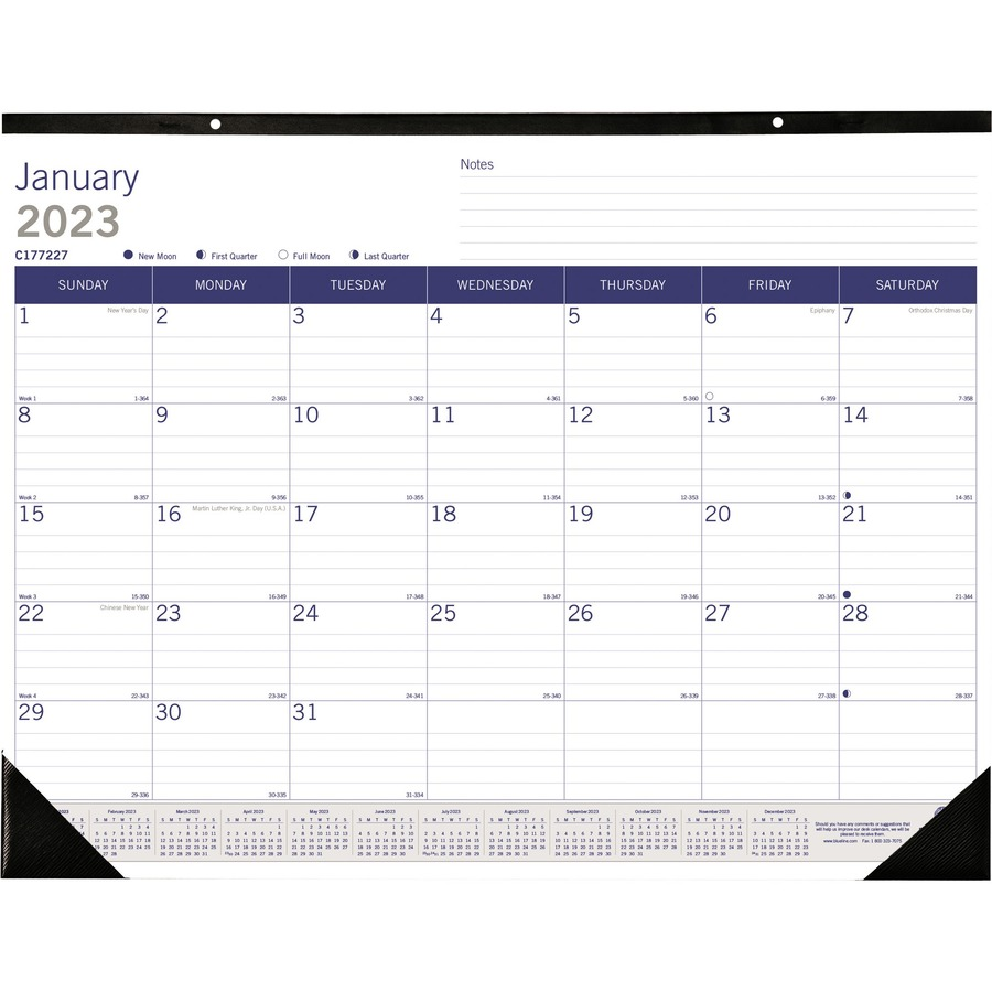 Weekly Calendar Desk Pad : Blueline duraglobe monthly desk pad