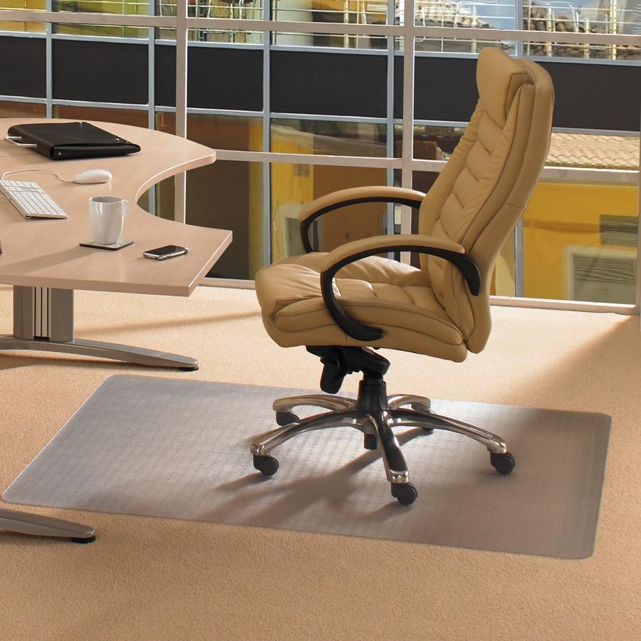 pvc home office chair. Cleartex Standard Pile Antimicrobial Chair Mat FLRAB1113426EV Pvc Home Office