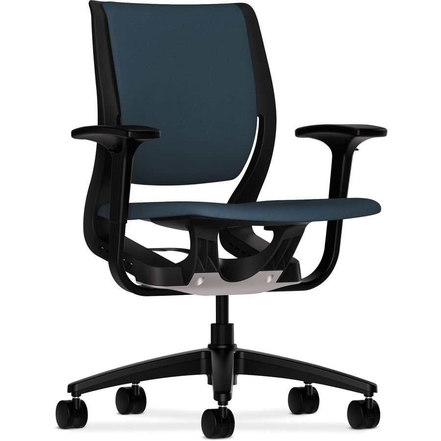 hon purpose seating black frame flexing task chair honrw101oncu90