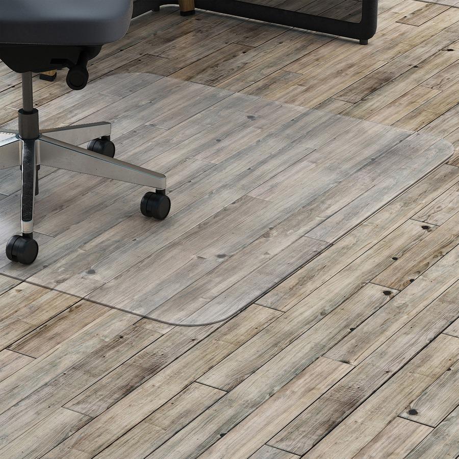 Lorell Hard Floor Rectangler Polycarbonate Chairmat Llr69707