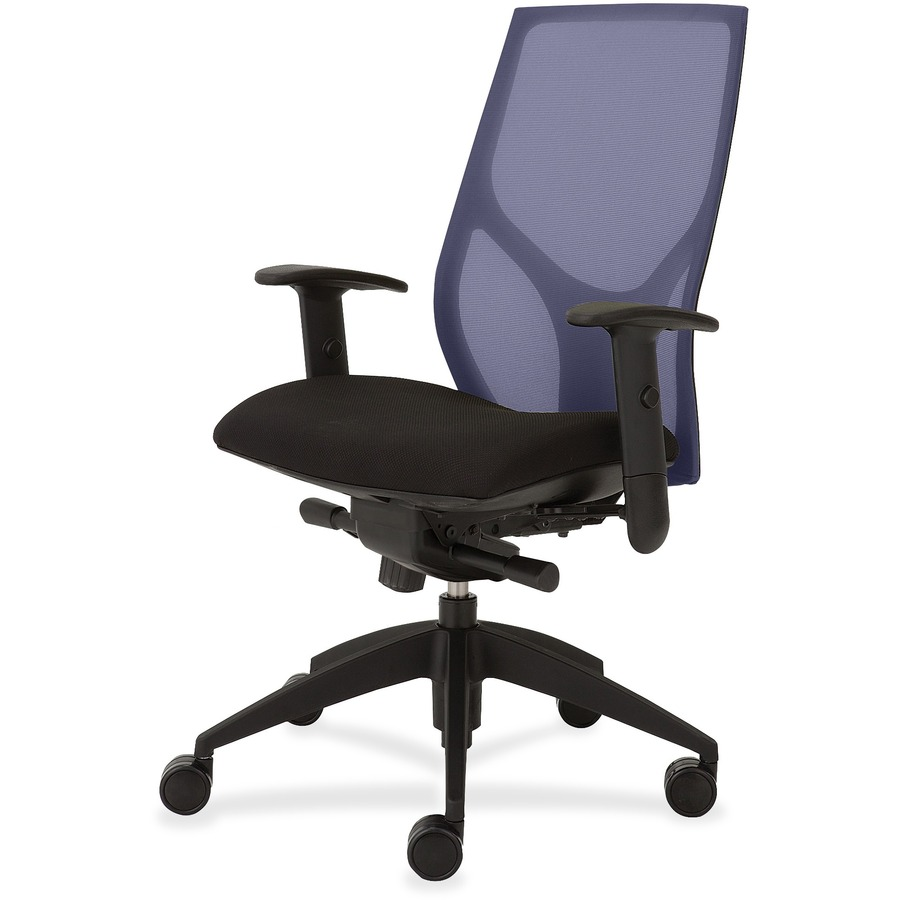9 To 5 Seating Vault 1460 Task Chair Black Seat Star Base 20 Width X 18 50 Depth 26 46 Height