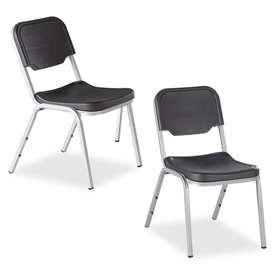 Ice64111 iceberg rough 39 n ready stack chairs 4 pack for Rough and ready furniture