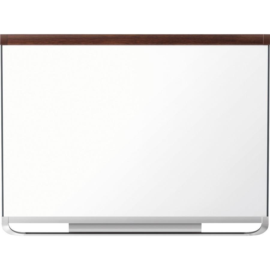 Quartet® Prestige® 2 DuraMax® Porcelain Magnetic Whiteboard, 4\' x 3 ...