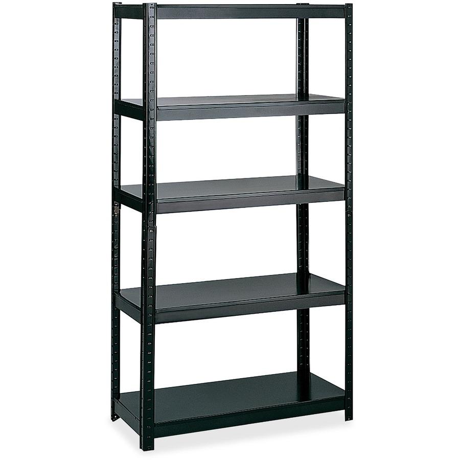 safco 36 wide 24 deep boltless shelving. Black Bedroom Furniture Sets. Home Design Ideas