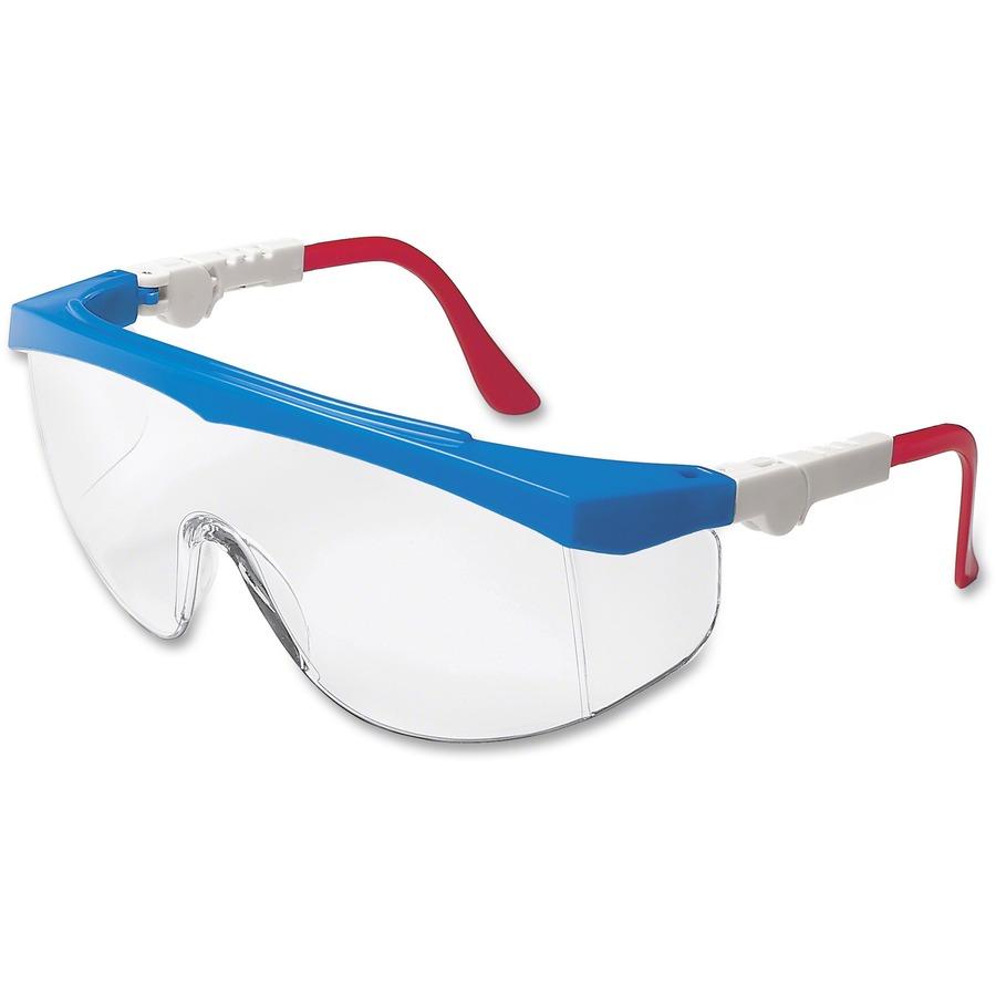 mcscrwtk130 crews tomahawk single lens safety glasses