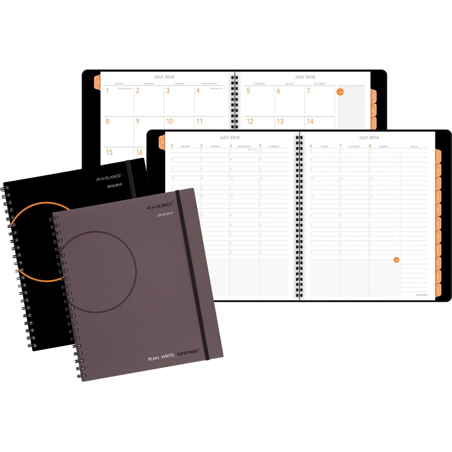 at a glance plan write remember academic weekly monthly planner