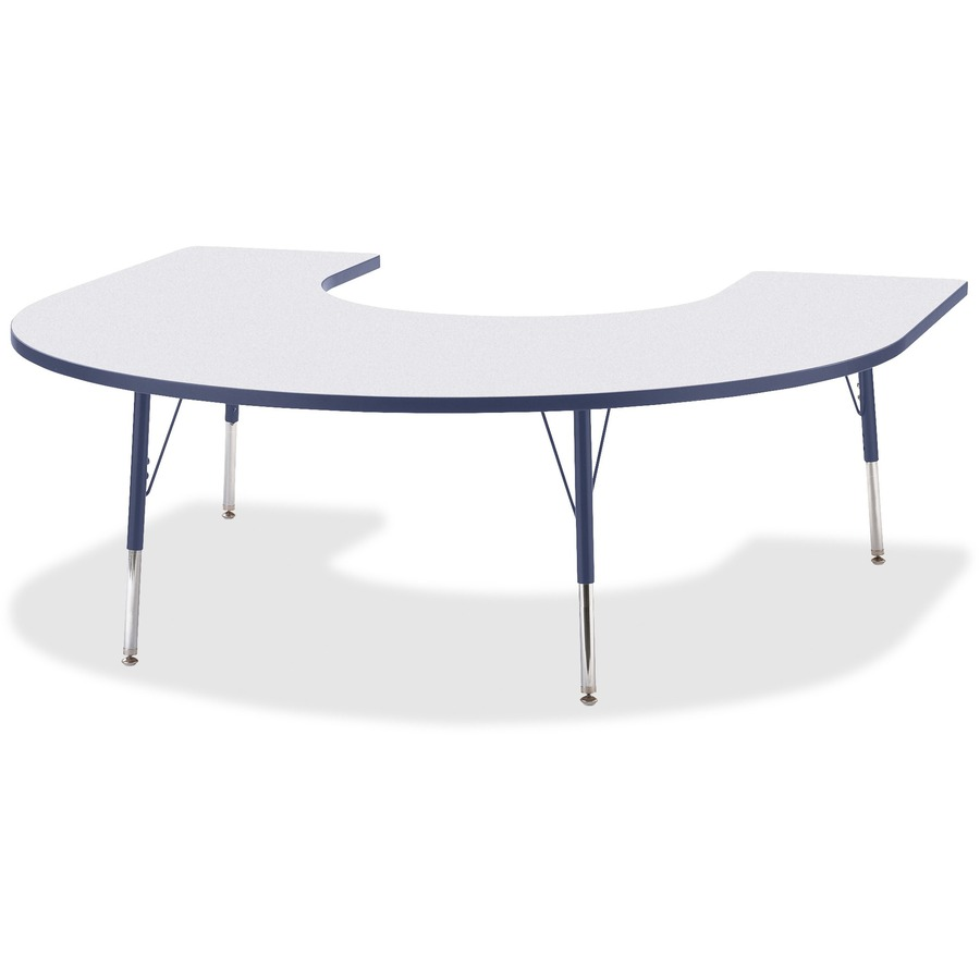Berries prism horsheshoe student table jnt6445jca112 for Table student
