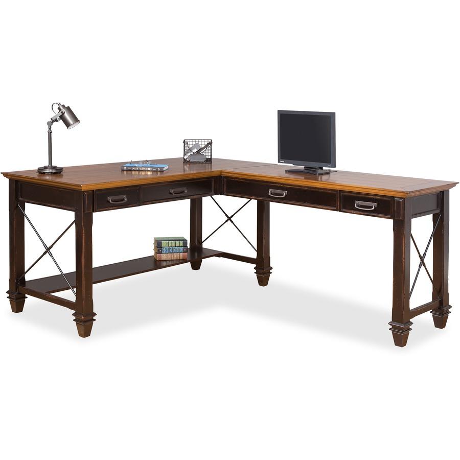 Kathy Ireland Hartford Right Hand Facing Open L Shaped Desk Office