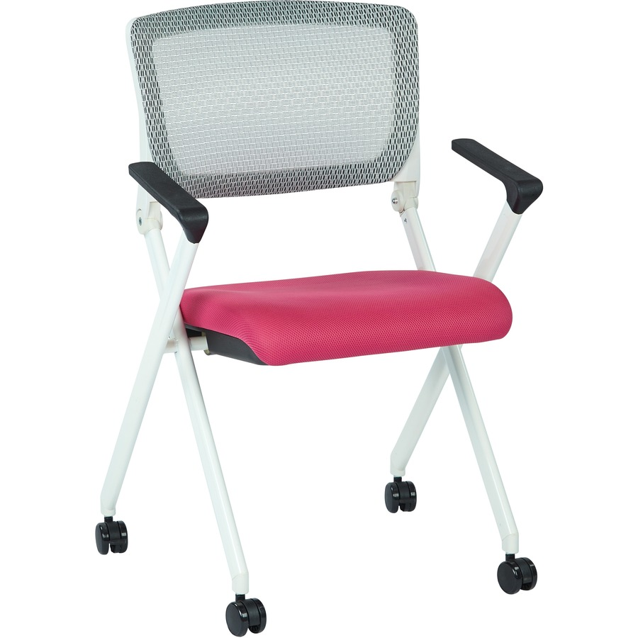 office star folding chair with flex back osp848w261