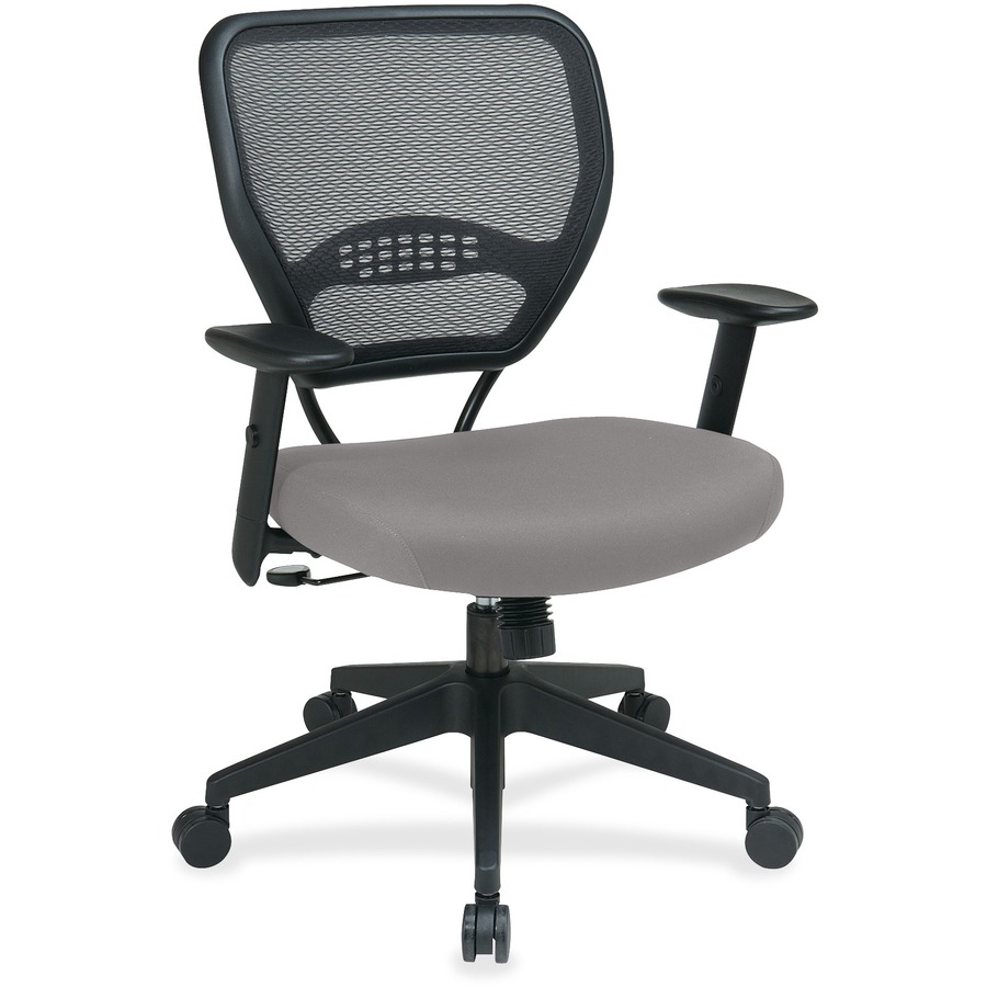 OSP557N1760 Space Seating Professional Dark Air Grid Back Managers Chair Wi