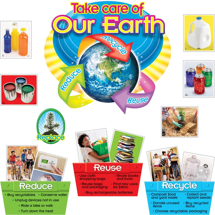 Reduce Items Trend Reducereuserecycle Bulletin Board Set  Lighthouse Office .