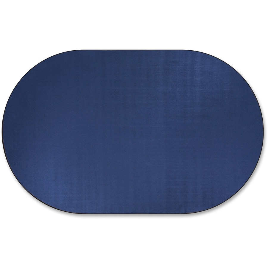 Flagship Carpets Classic Solid Color 12 Oval Rug