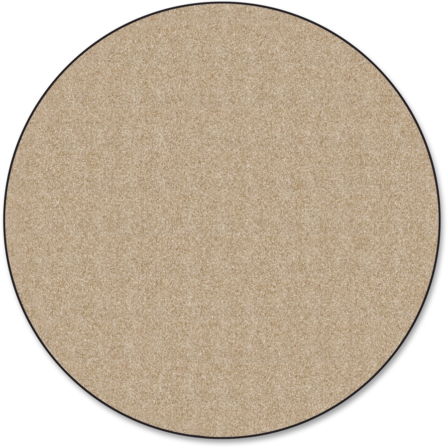 Flagship Carpets Classic Solid Color 12 Round Rug
