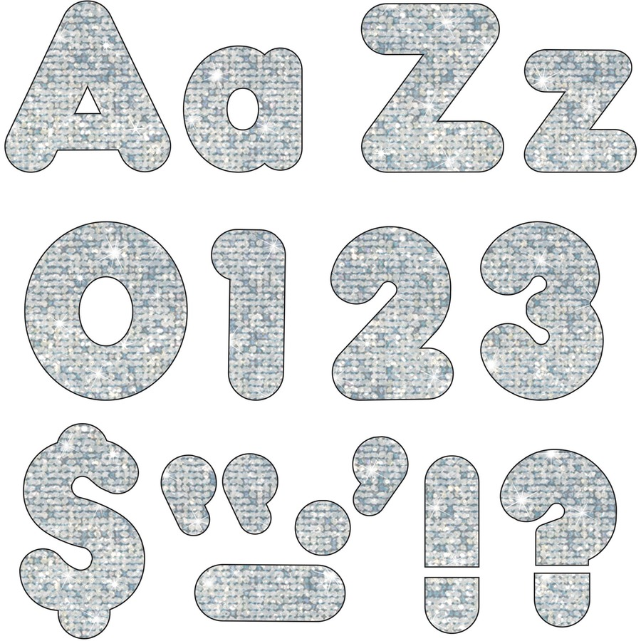 Trend Sparkle 4 Casual Ready Letters Combo Pack Urban Office Products
