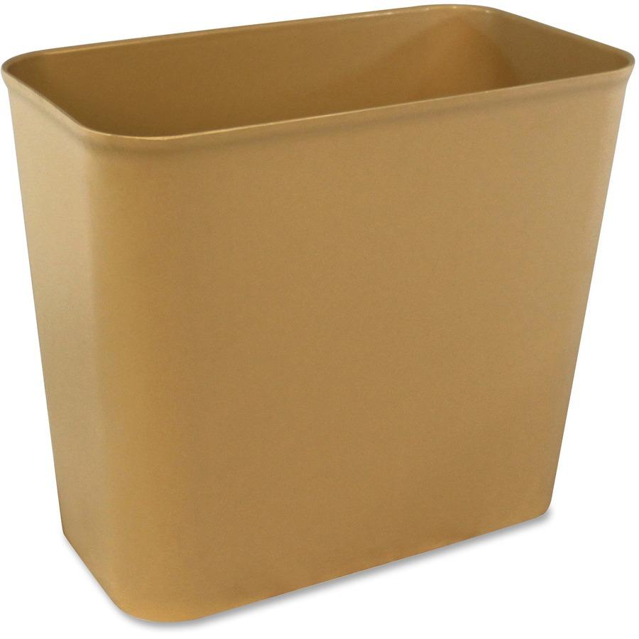 Impact products fire resistant wastebasket - Corner wastebasket ...