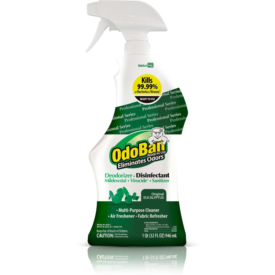 OdoBan Eucalyptus Deodorizer Disinfectant Spray Office