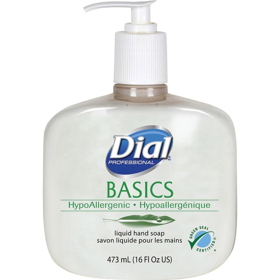 Dial Basics Hypoallergenic Liquid Hand Soap M L Amp H Computer Services Inc