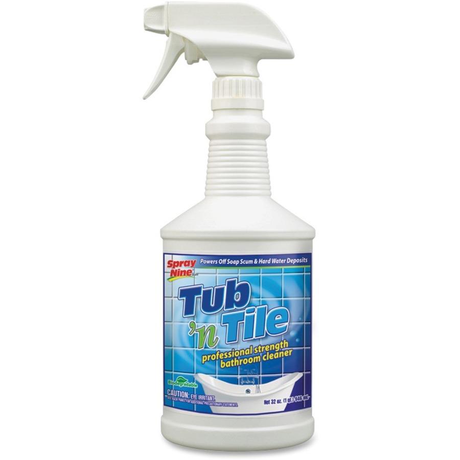Spray Nine Permatex Tub \'N Tile Bathroom Cleaner - Tierney Office ...