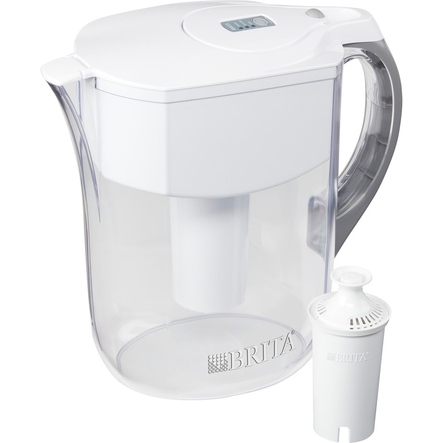 Brita 10 Cup Grand Water Filter Pitcher Clo35565
