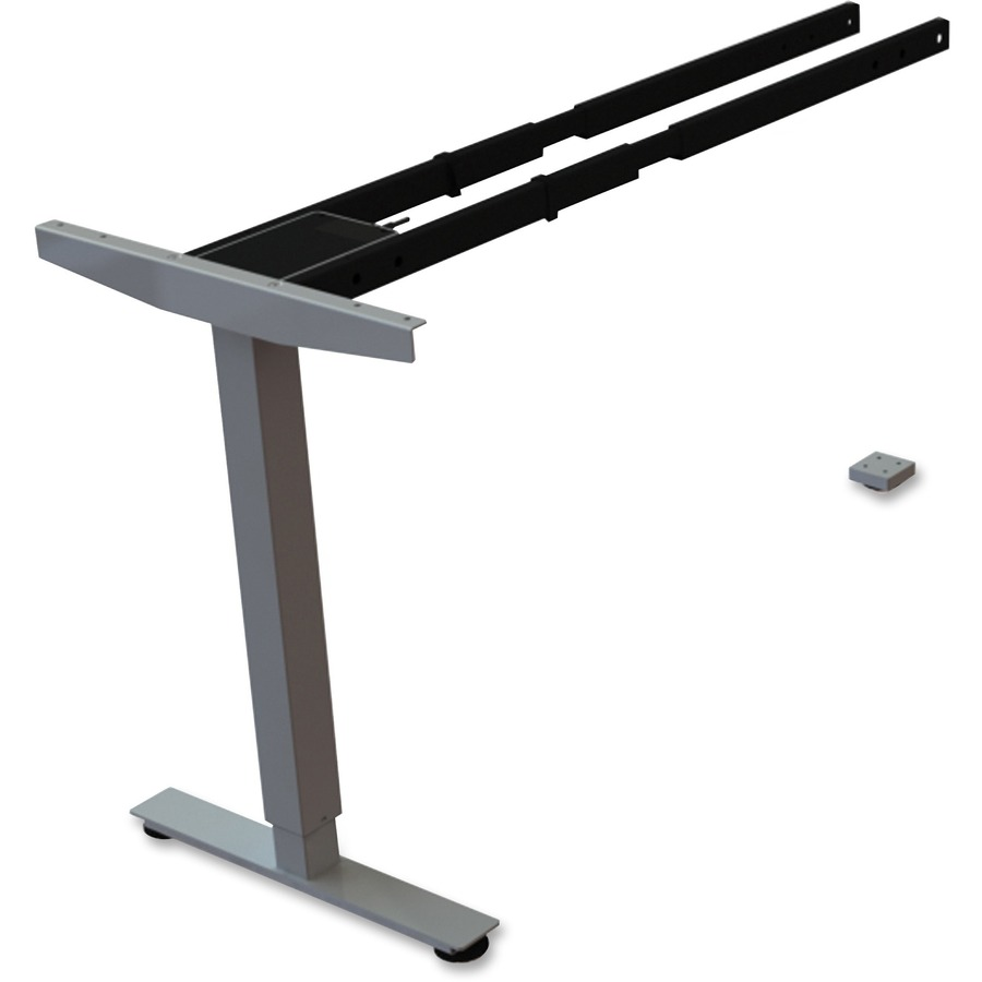 Llr99851 Lorell Sit Stand Desk Silver Third Leg Add On