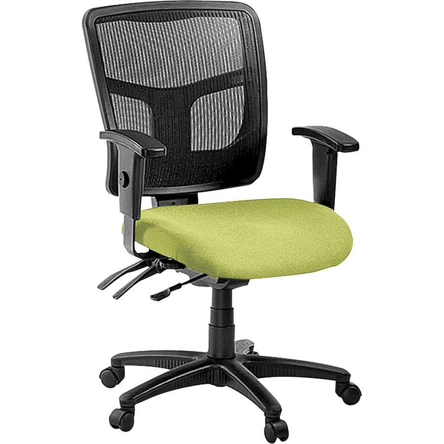 Lorell Managerial Mesh Mid Back Chair LLR86201009