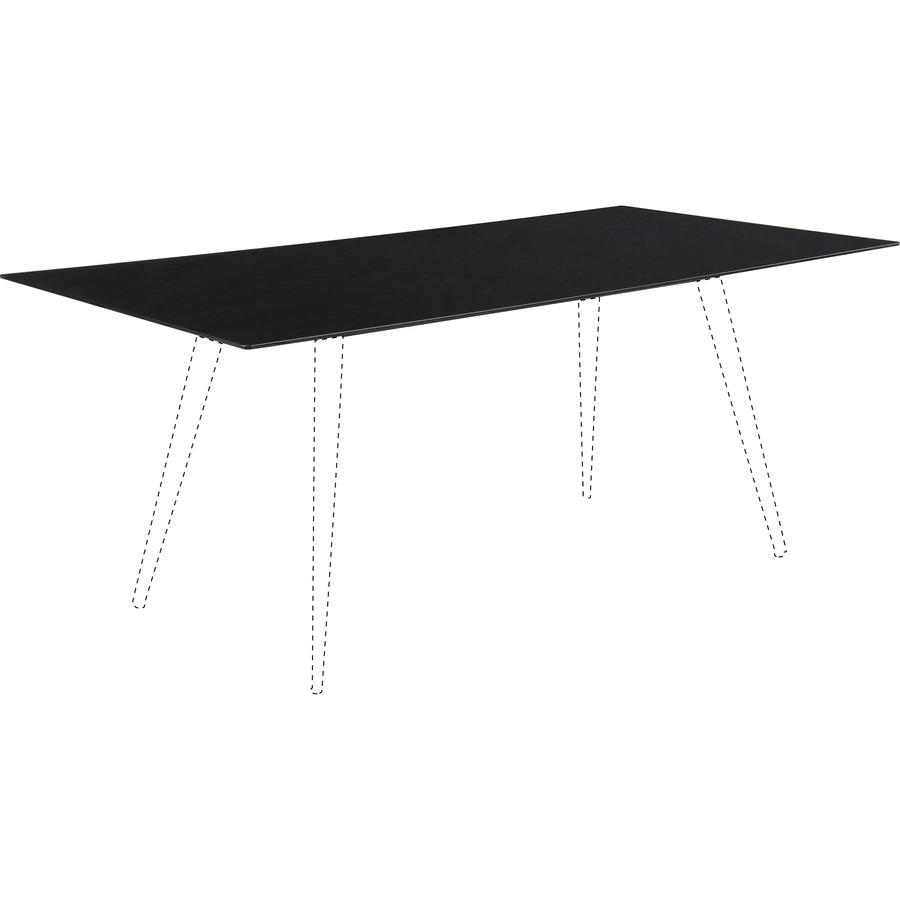 Lorell Conference Table Top Mac Papers Inc - 72 x 36 conference table