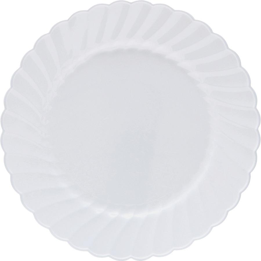 Vajilla classicware plato blanco reparto for Plato blanco