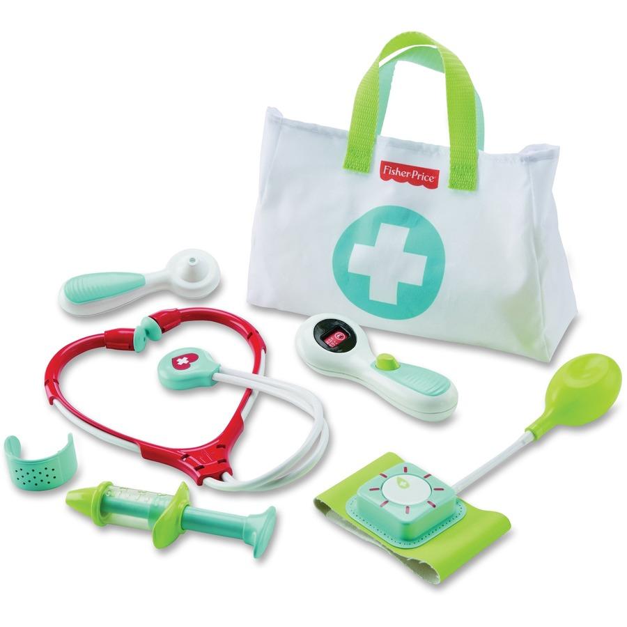 Fisher-Price - Plastic Play Medical Kit - SupplyGeeks.com