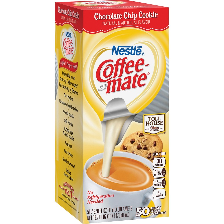 Coffee-mate Chocolate Chip Cookie Creamers - Blue Cow Office Products