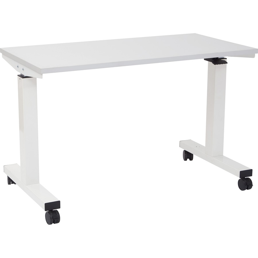 ProLine II FTWide Pneumatic Height Adjustable Table Winklers - 4 ft office table