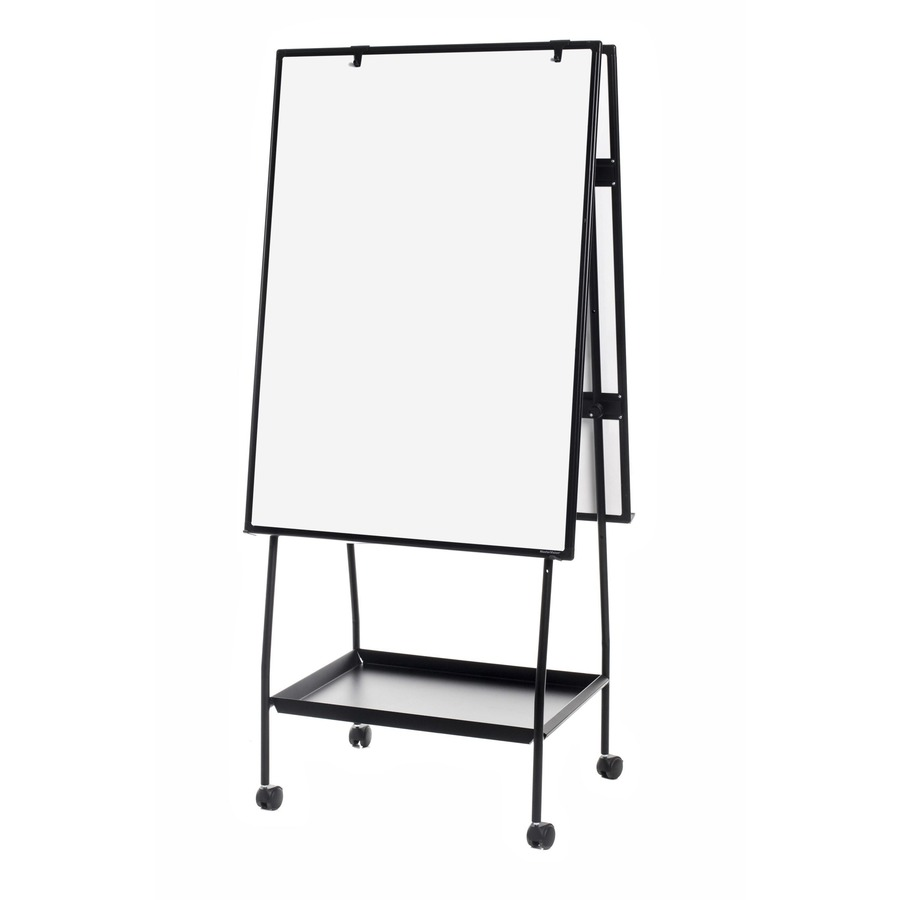 MasterVision Melamine Double-sided Easel - 123 Office Solution