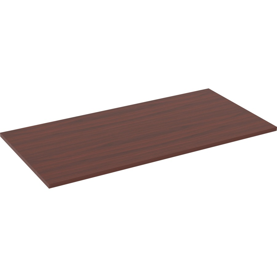 Lorell relevance series mahogany laminate office furniture llr16200