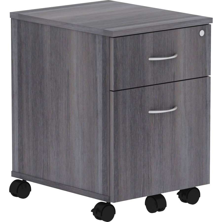 Lorell Relevance Series Charcoal Laminate Office Furniture Llr16217
