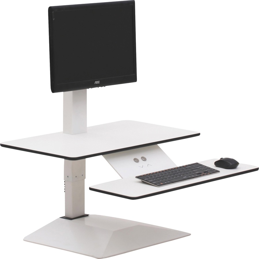 Lorell Sit To Stand Electric Desk Riser Llr99549