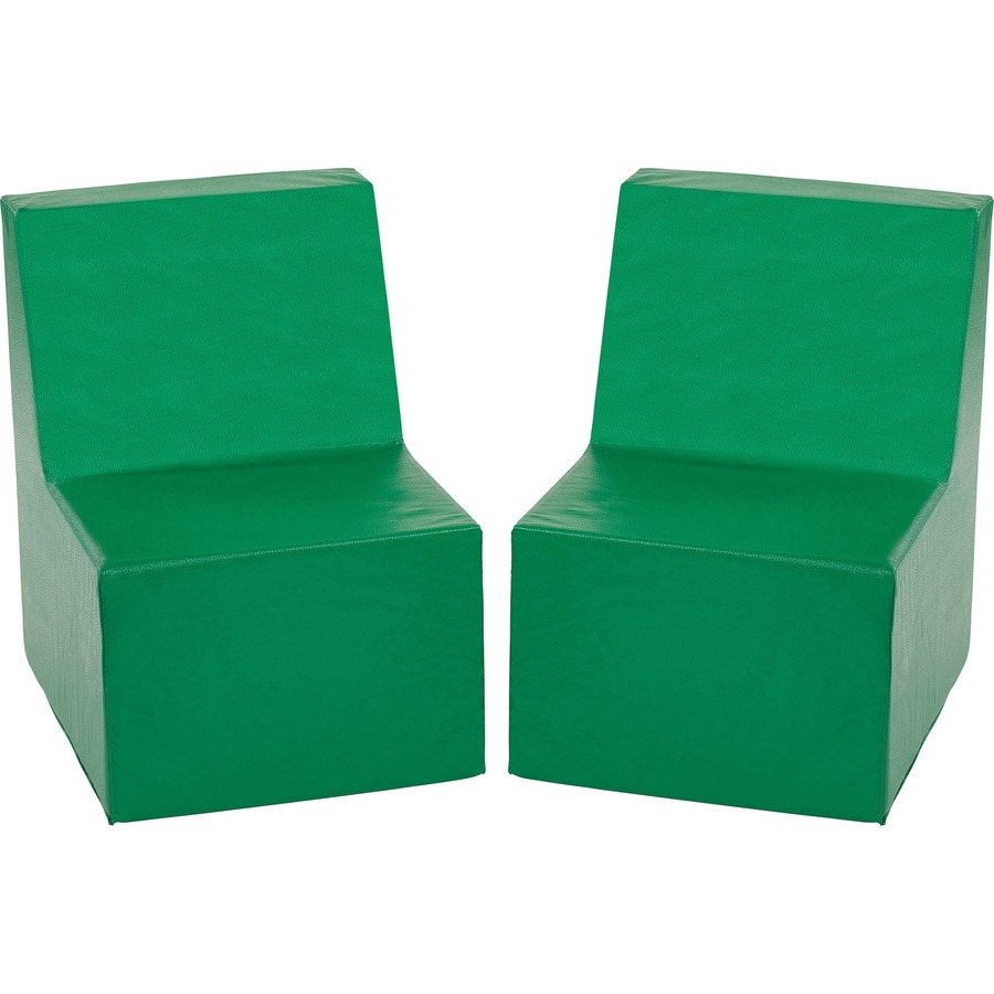 ECR4KIDS Toddler Cushioned Chairs ECR12707GN