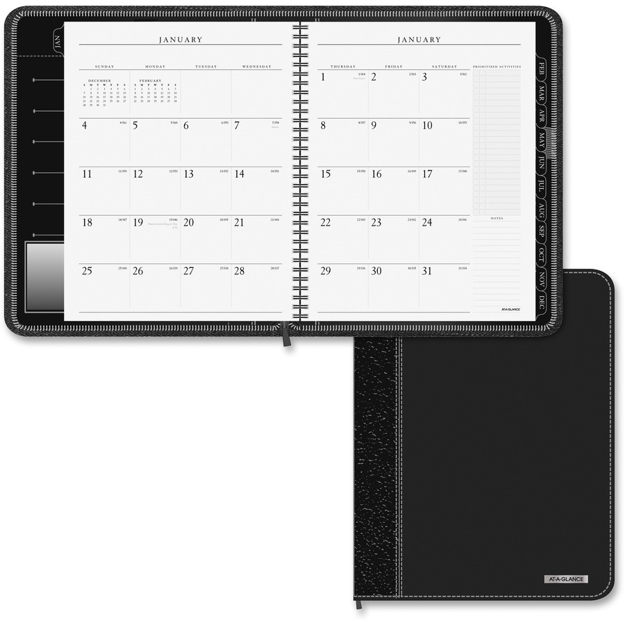 At a glance executive monthly planner degroot technology at a glance executive 2 pages per month monthly planner aag70n54705 colourmoves