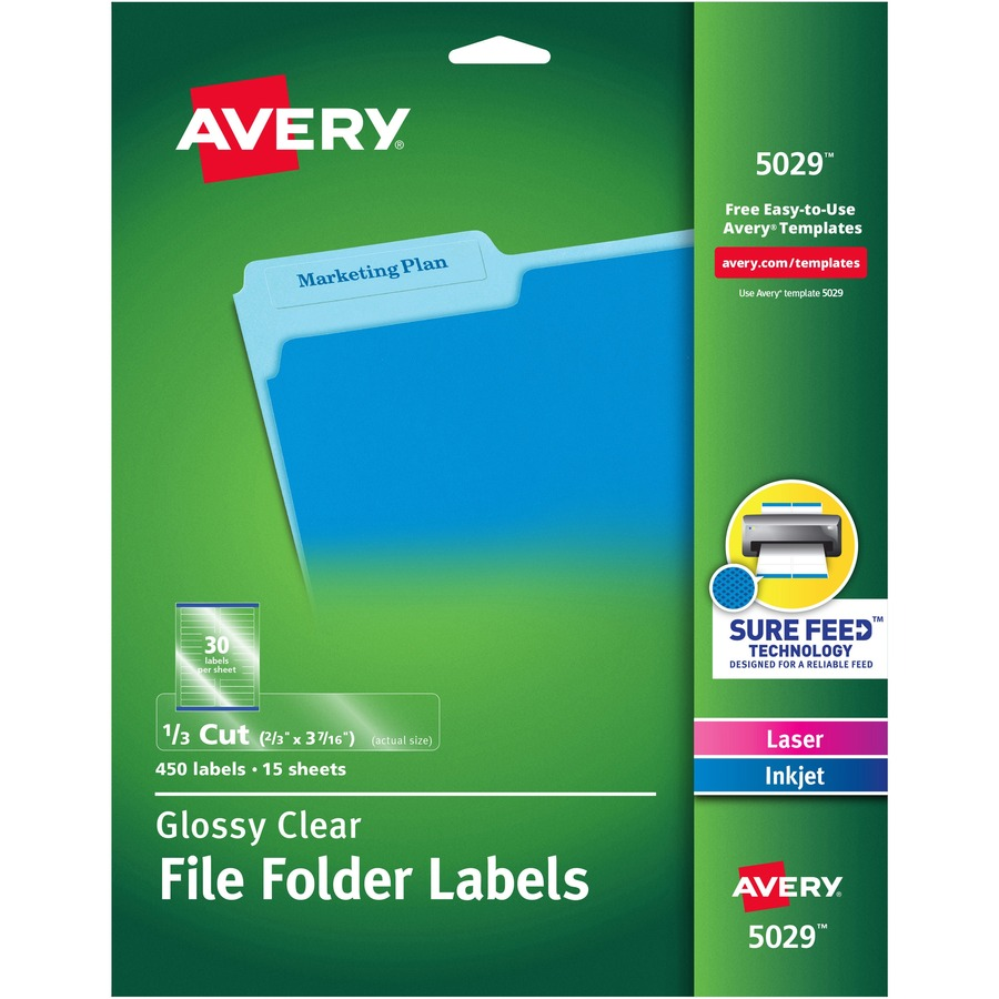avery 5029 template word
