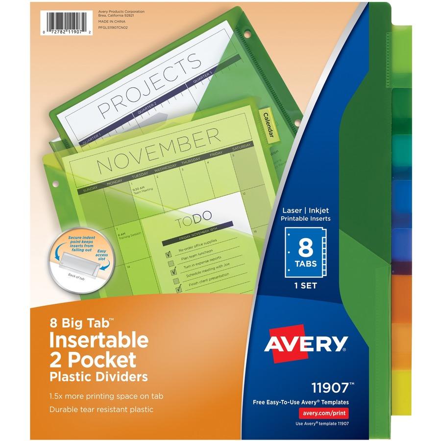 Etiqueta de índice Avery - Reparto
