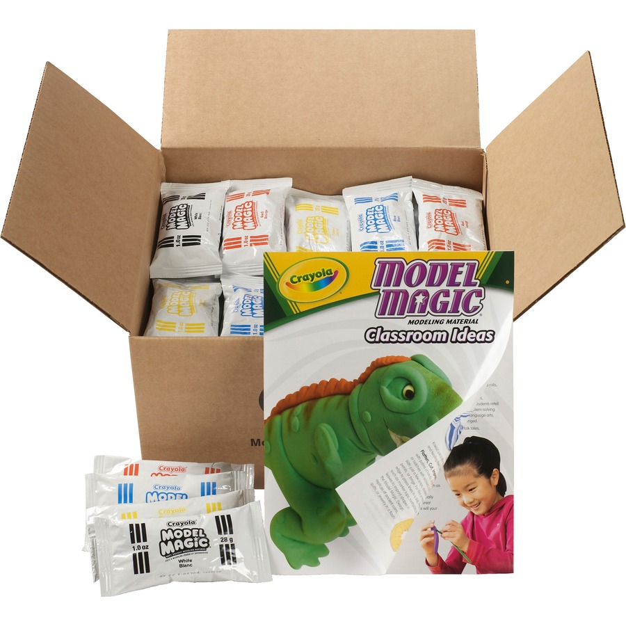 crayola model magic classpack clay tierney office products