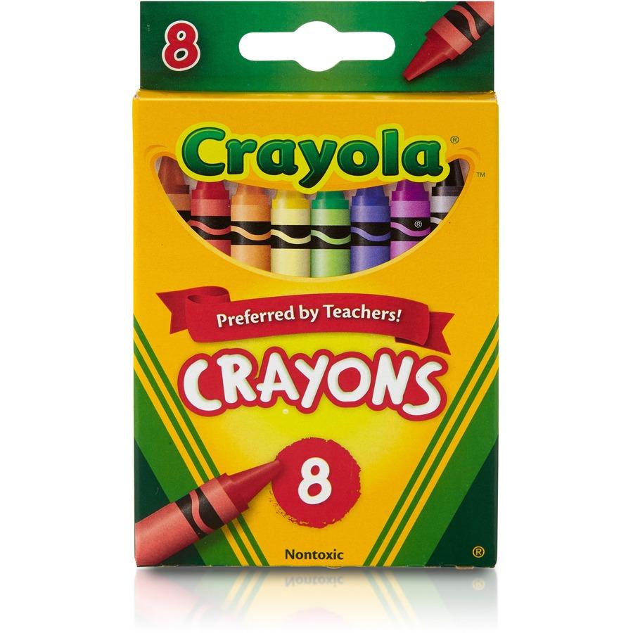Crayola Regular Size Crayon Sets - Office Church School Supply Co. Inc.