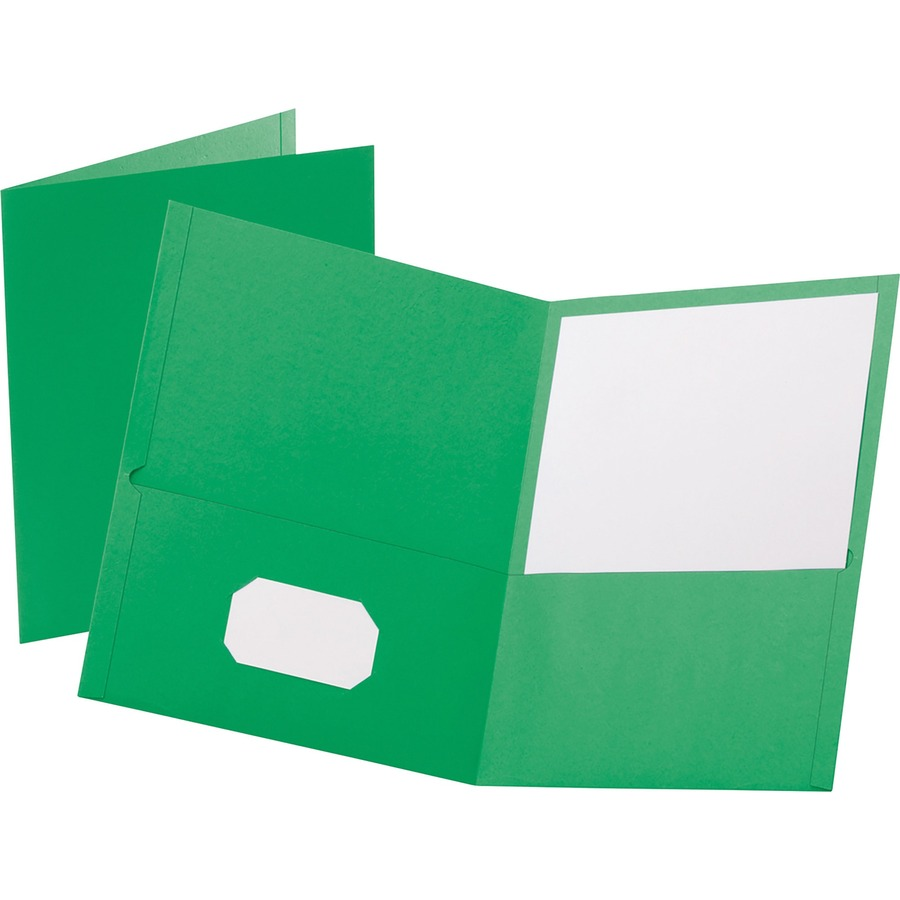 Oxford Twin Pocket Letter Size Folders
