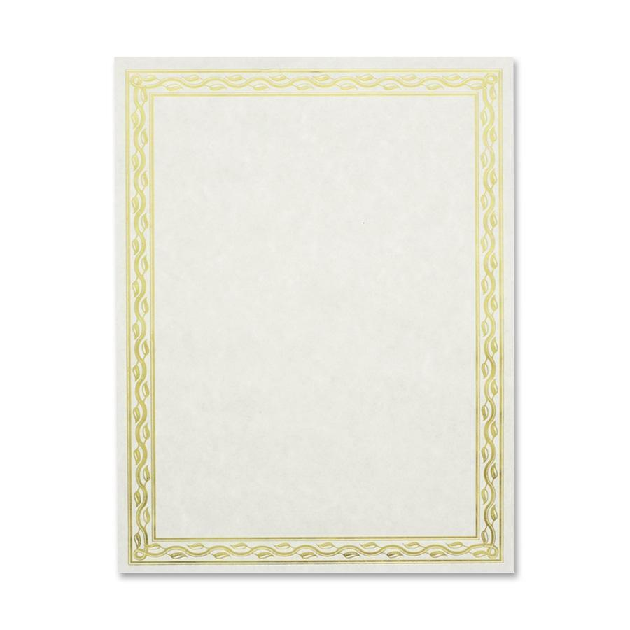 Geographics 44407, Geographics Blank Serpentine Certificate ...