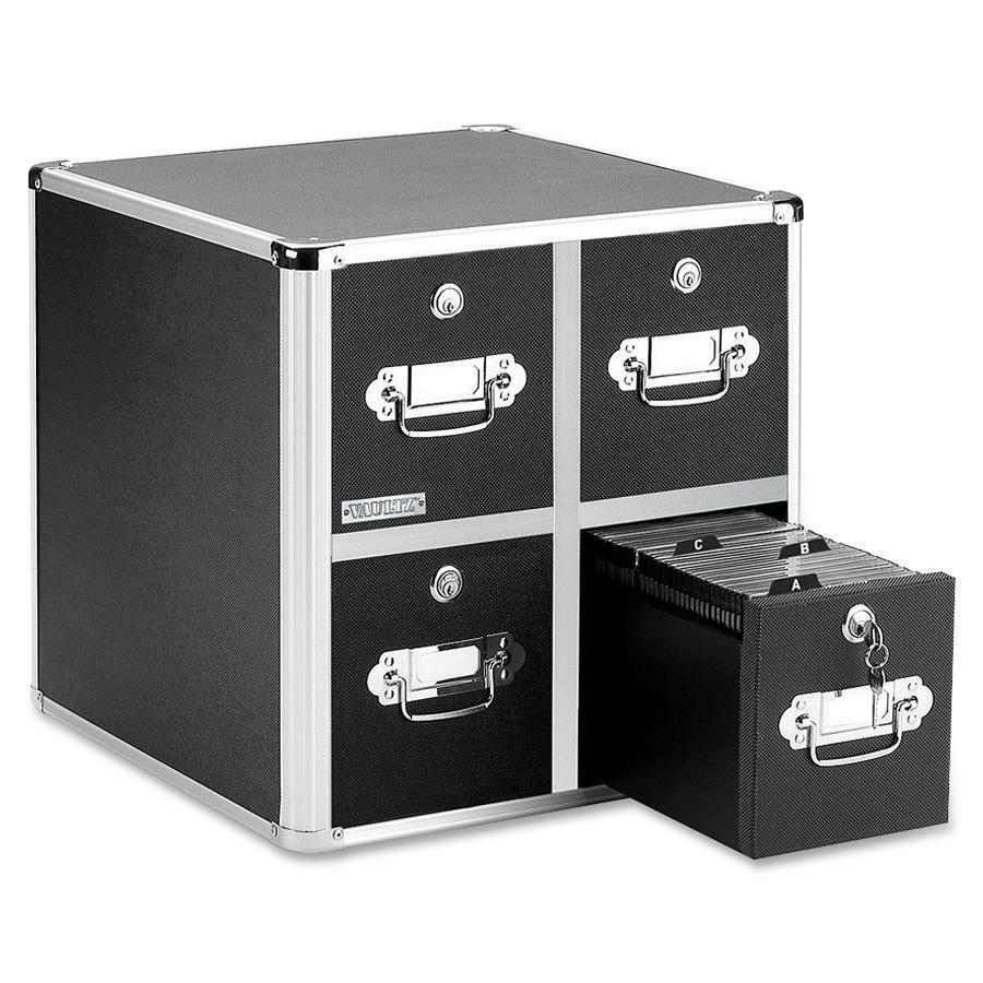 Vaultz Disc Locking CD/DVD Cabinets IDEVZ01049